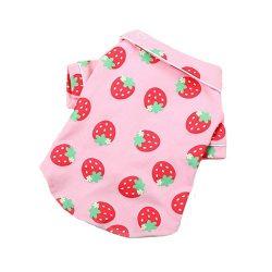 pijama verano fresas