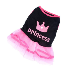 vestido princess chihuahua